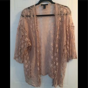Forever 21 Lace cover up